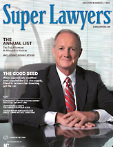 TGI placed a cover story profile of attorney Don Downing in the 2012 issue of Missouri & Kansas Super Lawyers magazine, a leading legal trade publication.