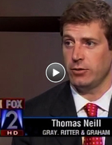 An in-depth report of a TGI client's lawsuit by KTVI consumer reporter Elliot Weiler generated positive attention for the client and for the litigation matter.
